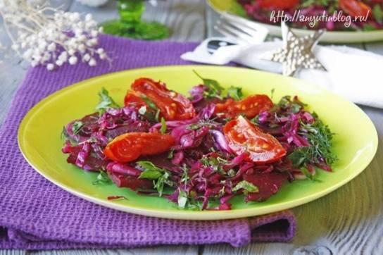 ВЕГЕТАРИАНСКАЯ КУХНЯ. Турецкий салат