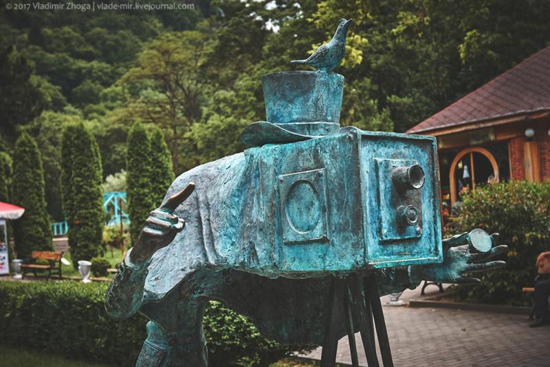 Куда ведет тропинка в парке Боржоми? путешествия, факты, фото