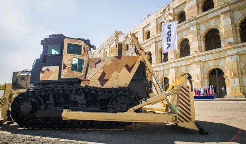 В Челябинске наладили выпуск бронированных тракторов