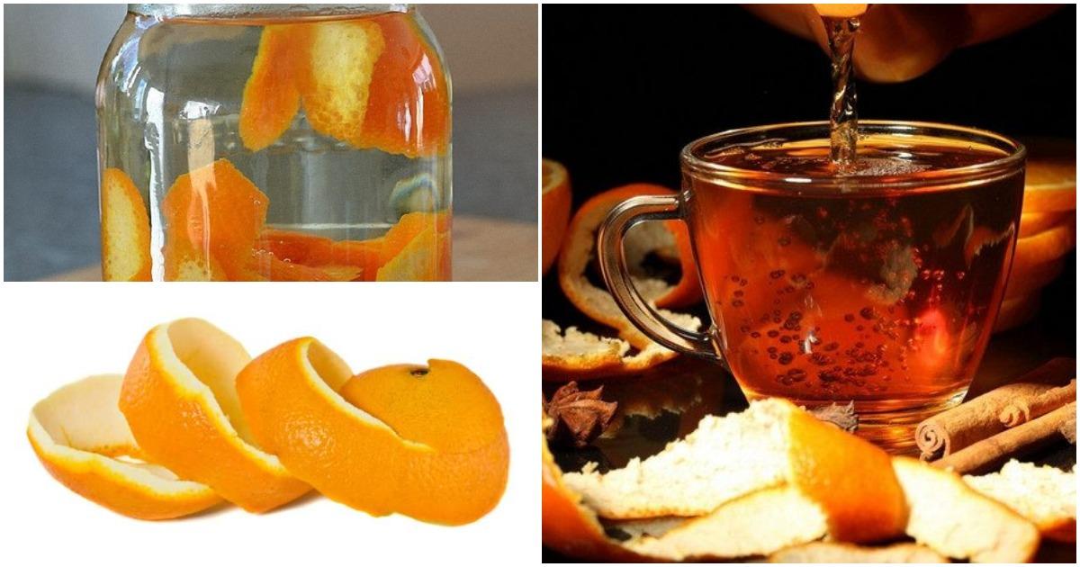 Узнав об этих секретах, вы больше не станете выбрасывать кожуру от апельсина