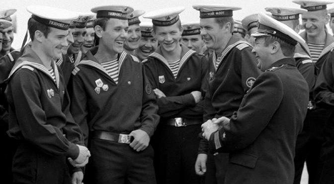 Как служили в советское время