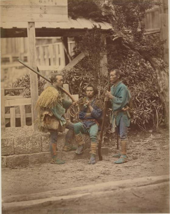 Охота была хорошим времяпровождением для самурая.
