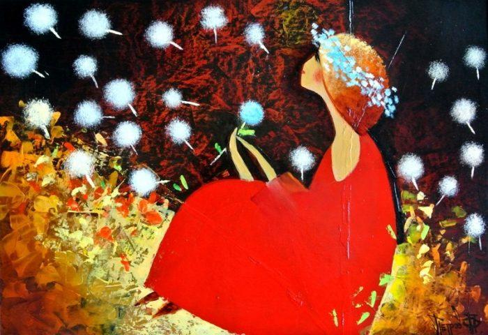 Яркие краски волшебного мира в работах художника Михаила Петрова