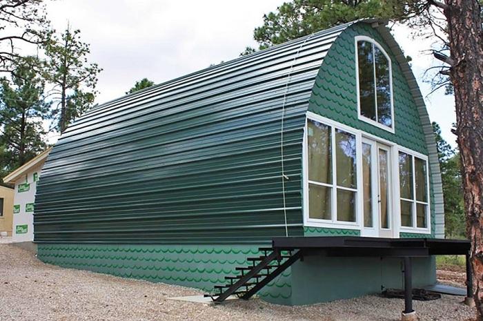 Арочный дом - доступное жилье стоимостью от $ 1000