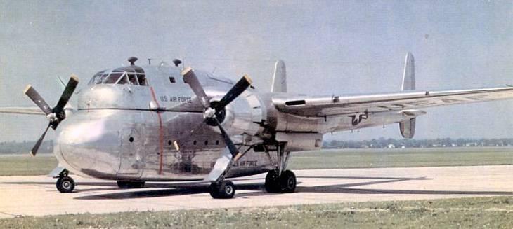 Военно-транспортный самолет Fairchild XC-120 Pack Plane (США)