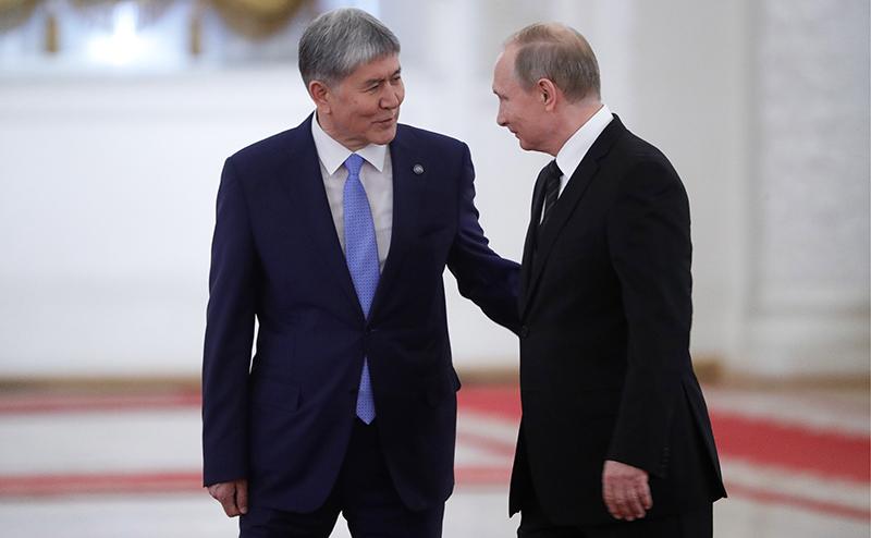 Кремль купил Киргизию за газ