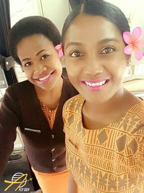 18. Фиджи - Fiji Link люди, пилоты, стюардессы