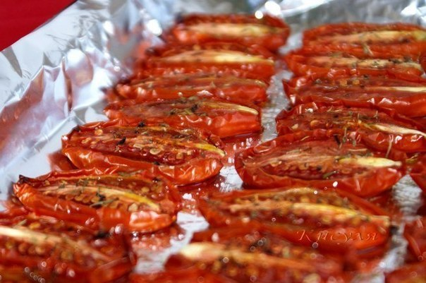 Безумно вкусные вяленые помидоры…