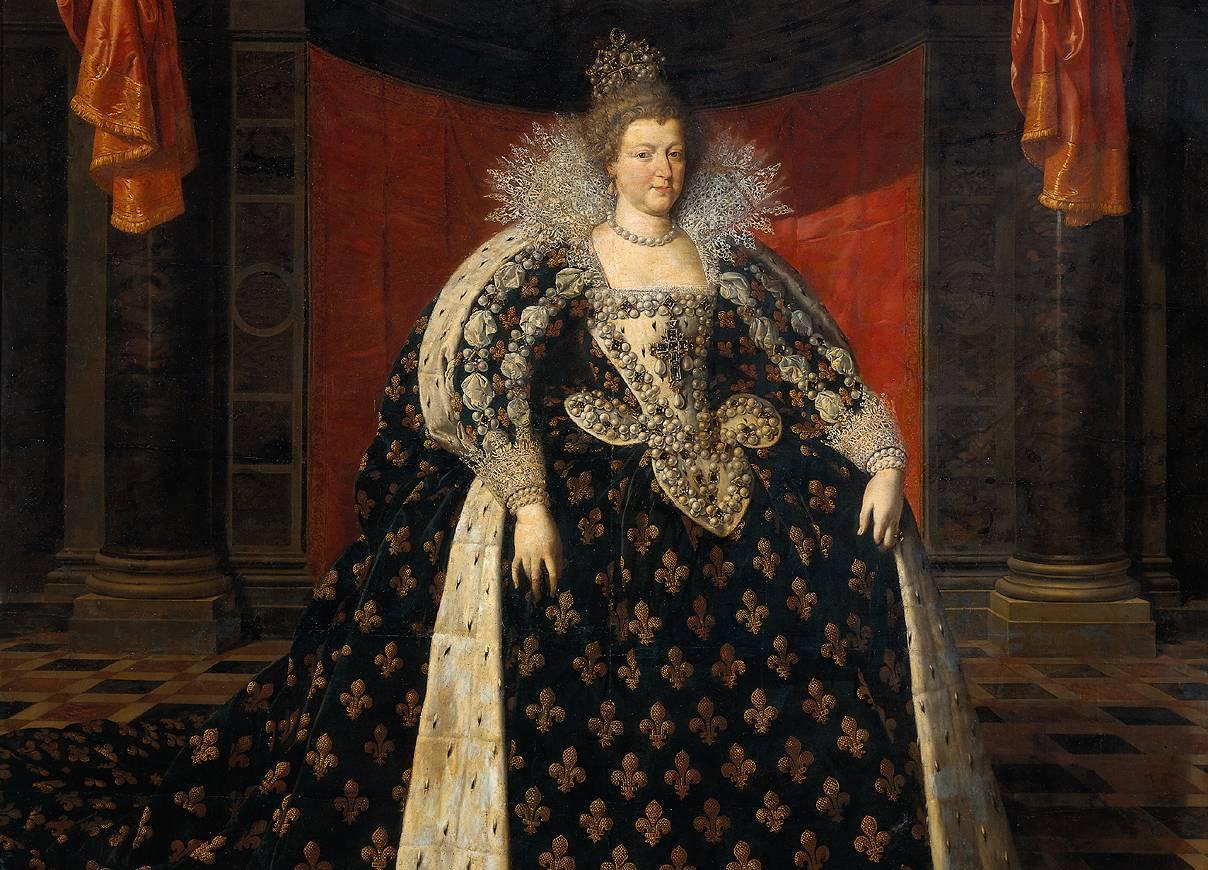 Француская королева Екатерина Медичи