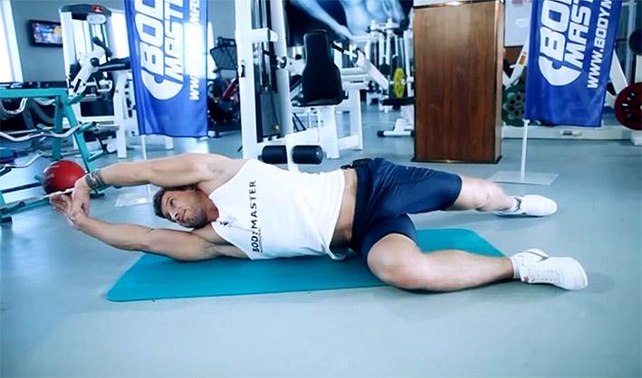 ДЕРЖИМ ФОРМУ. Растяжка широчайших мышц спины