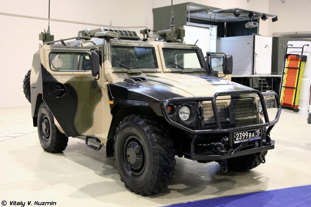 Эксперт раскрыл подробности создания российского броневика «Тигр» нового поколения