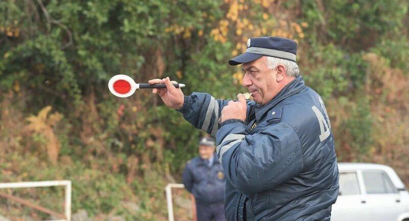 Ловушки абхазских ГАИшников