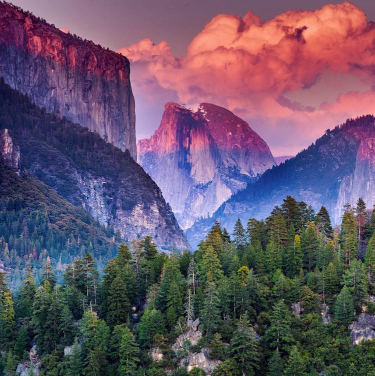 Удивительная красота! 20 Национальных парков в радужных цветах