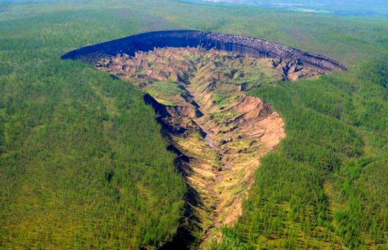 Сибирские «ворота в ад» - загадки и разгадки природного явления