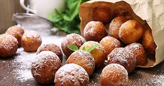 Пончики на кефире - самые лучшие, простые и быстрые рецепты пышного лакомства