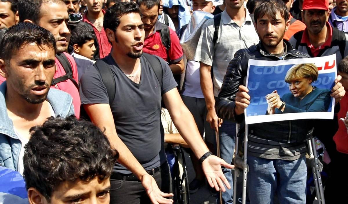 В Германии прошёл митинг мигрантов против засилья немцев