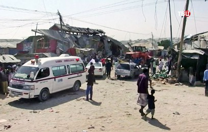 В результате теракта в Сомали погибли почти 40 человек