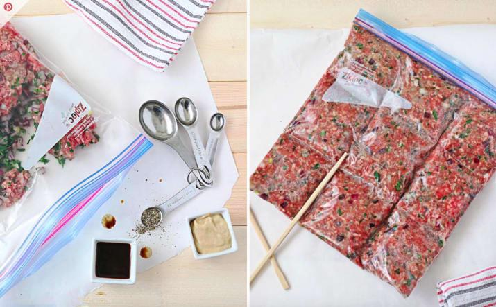 12 лайфхаков с использованием зиплок-пакетов на кухне