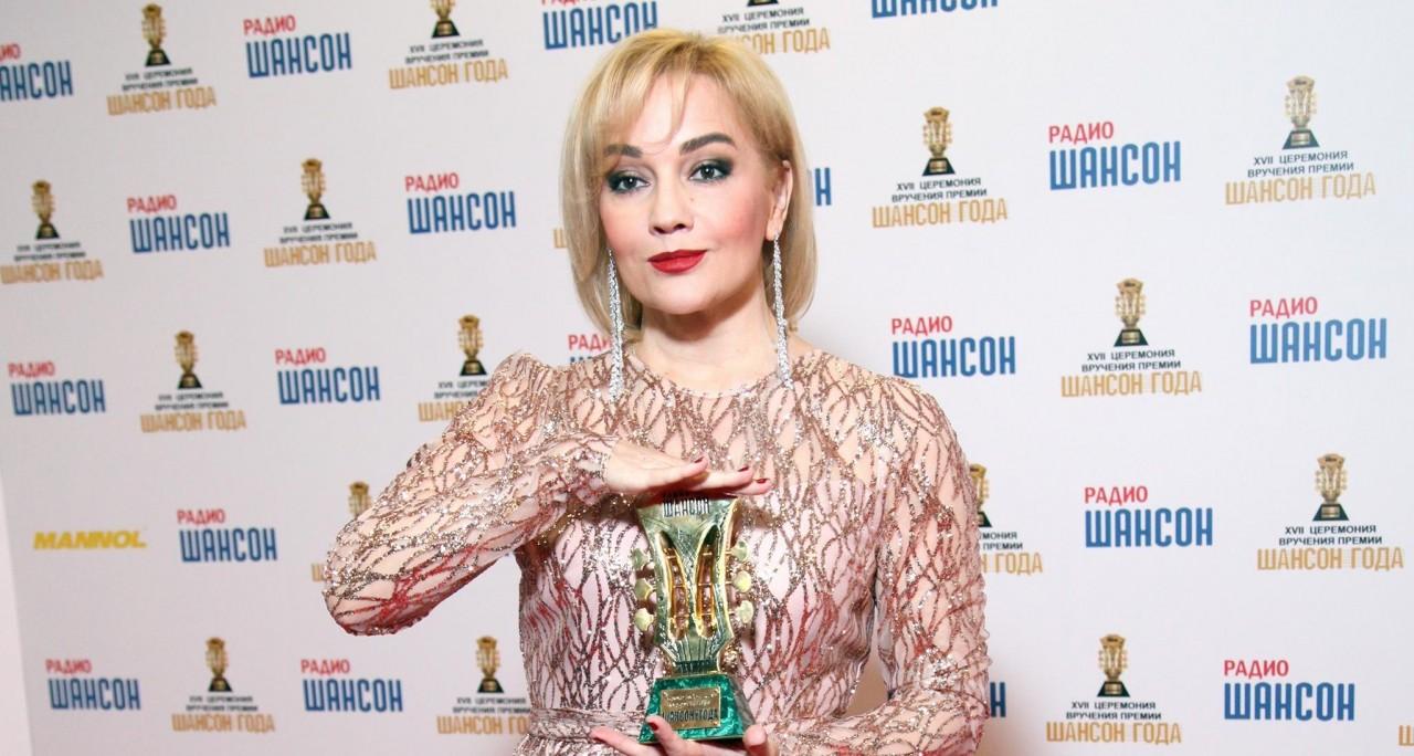 Татьяна Буланова, Слава, Наташа Королева и другие звезды на вручении премии «Шансон года»