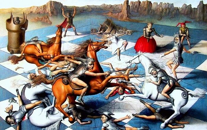 Живые шахматы - кровавое развлечение испанской инквизиции
