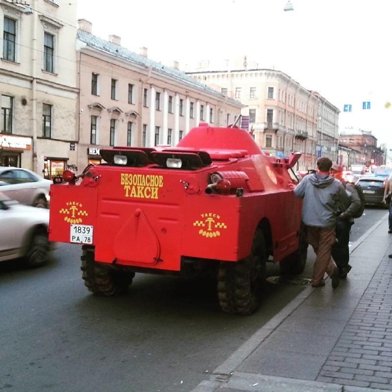 Вот так выглядит такси Города России, СПб, Это Питер детка, питер, санкт-петербург