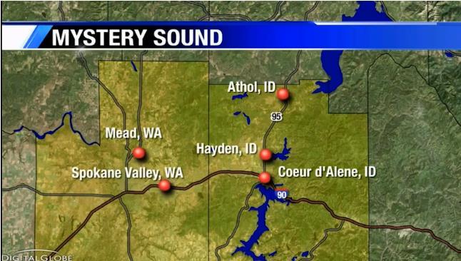 Странные жуткие звуки мешали спать жителям города Спокан-Вэлли, штат Вашингтон
