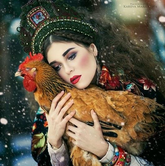 Удивительные фотографии Маргариты Каревой