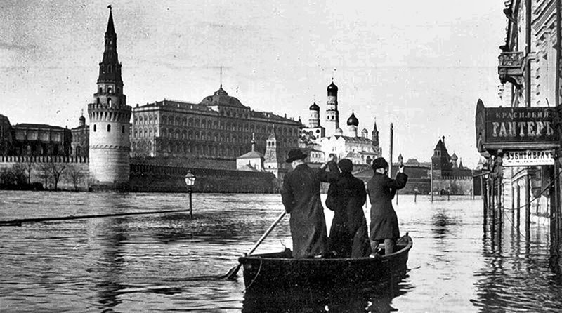 Она утонула: 110 лет с Великого Московского наводнения