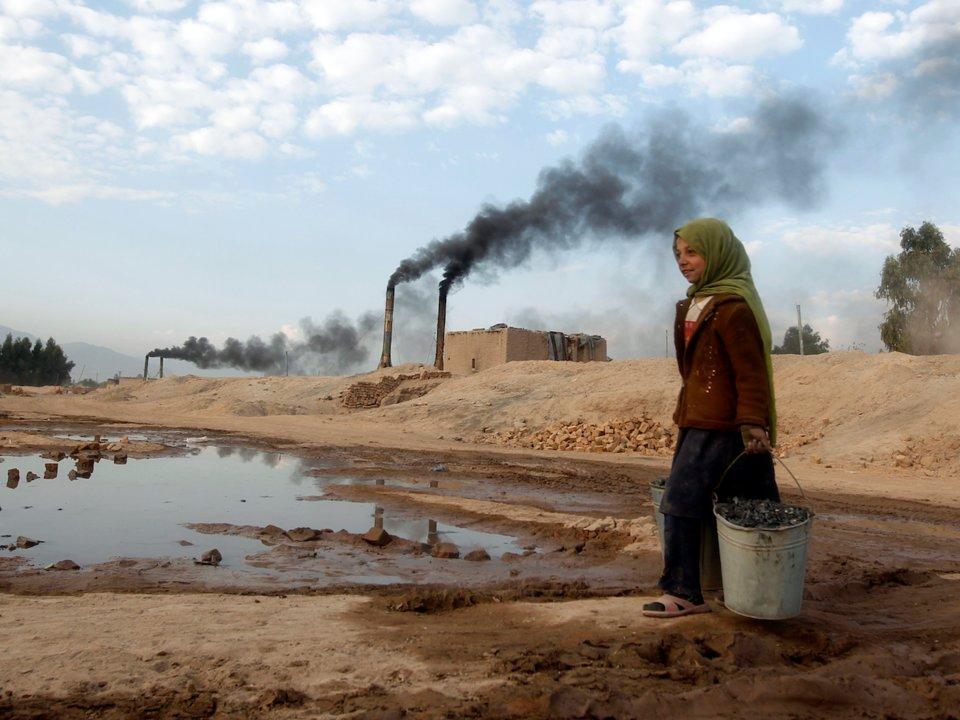 В каких странах самая высокая смертность, связанная с загрязнением воздуха