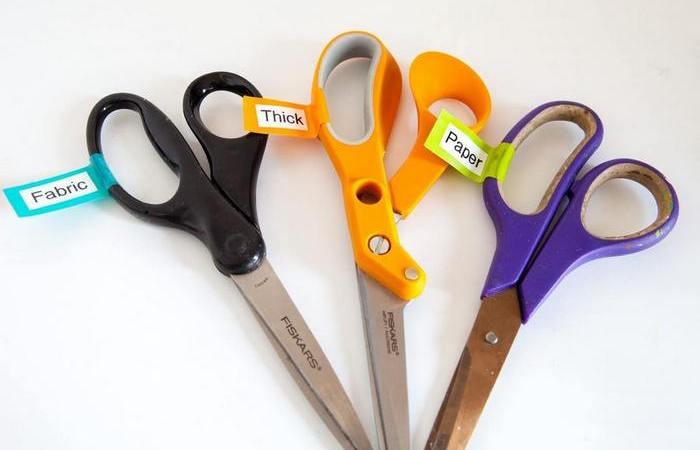 Как заточить ножницы за 1 минуту, чтобы были острее, чем новые