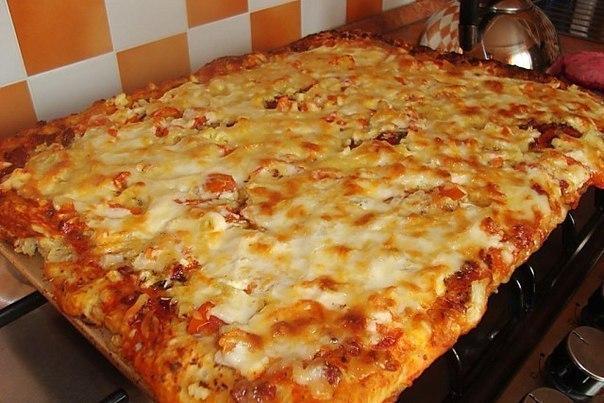 Только для тех, кто уже не худеет: Быстрая и Вкуснейшая Пицца