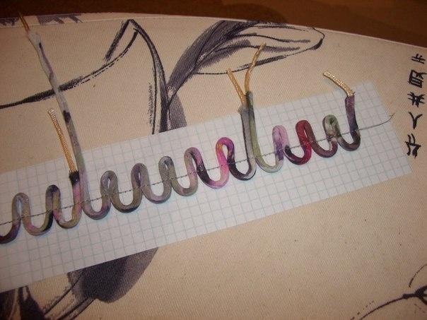 как быстро сделать навесные петли для пуговиц