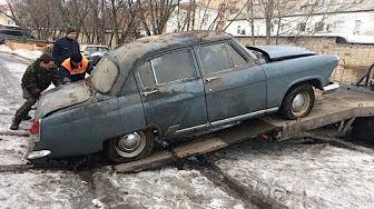 ГАЗ 21 ВОЛГА 1965 года в.простояла 30 лет