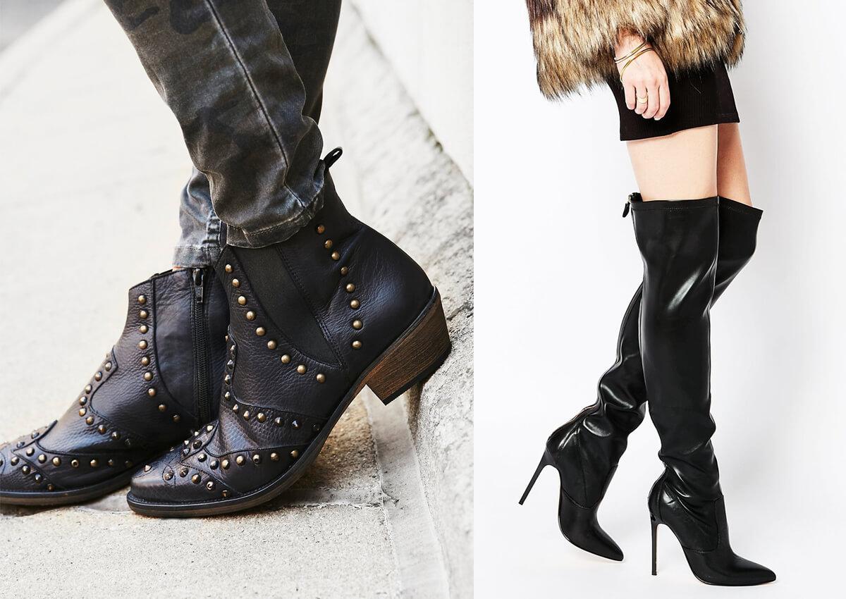 Модная женская обувь 2016-2017, осенняя и зимняя
