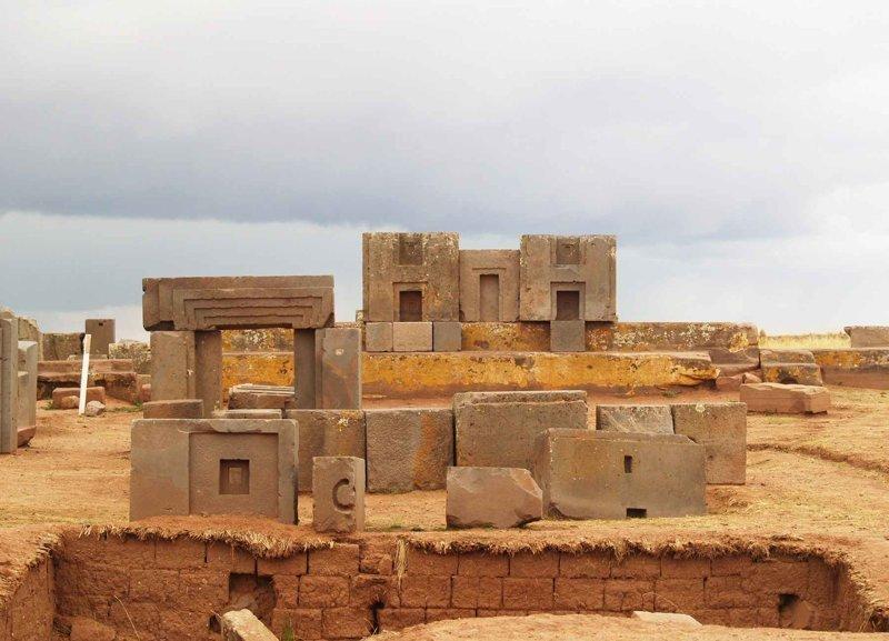 Каласасайя и Пума Пунку (Тиауанако). Инки считали, что именно в этом месте произошло сотворение мира загадки, интересное, камни, мегалиты, факты, цивилизации