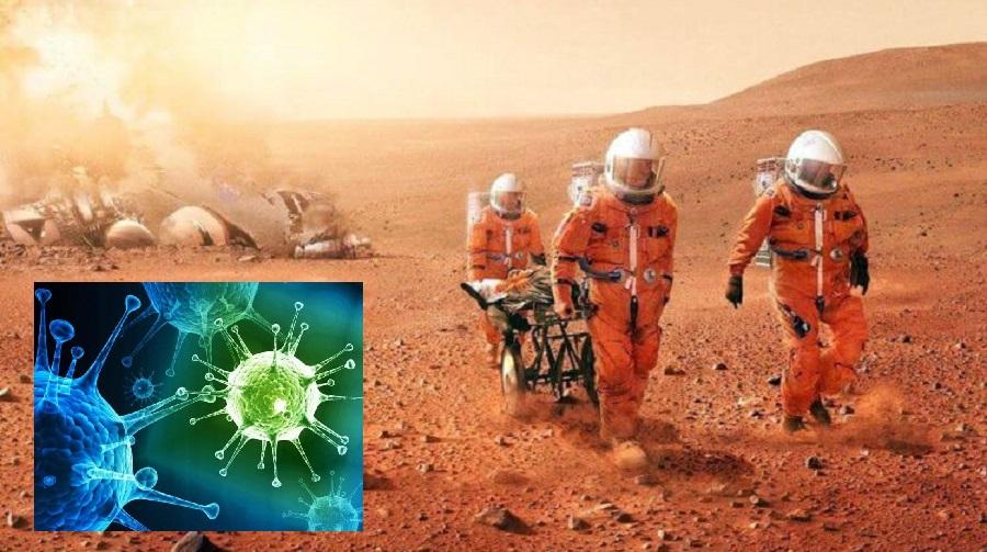 Марсианские вирусы могут вызвать эпидемию