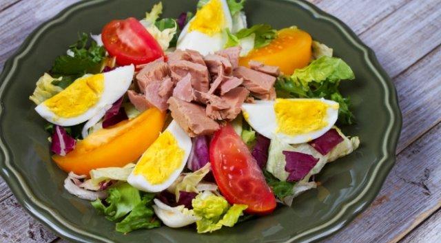 Порционный салат Нисуаз