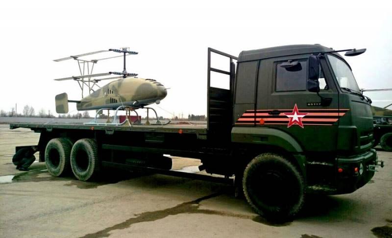 Новейшие беспилотники вертолётного типа засветились на репетиции парада Победы