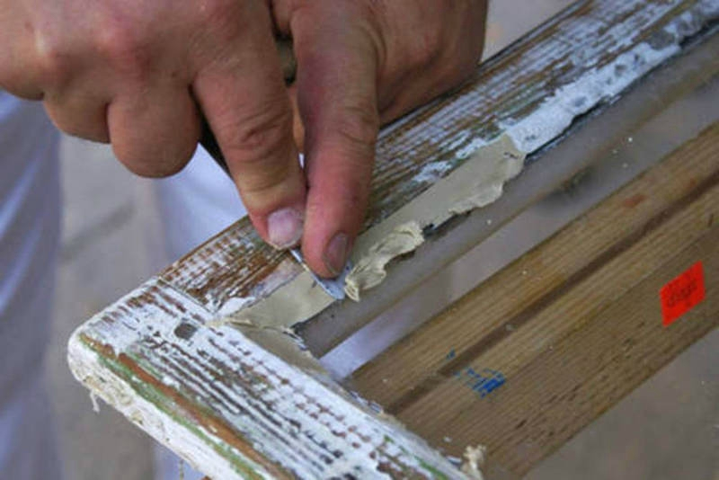 Ремонт своими руками старое деревянное окно