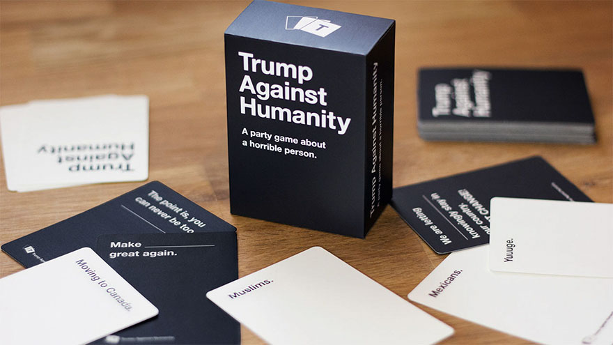 """""""Trump Against Humanity"""" Is The Greatest Party Game That Was Banned"""