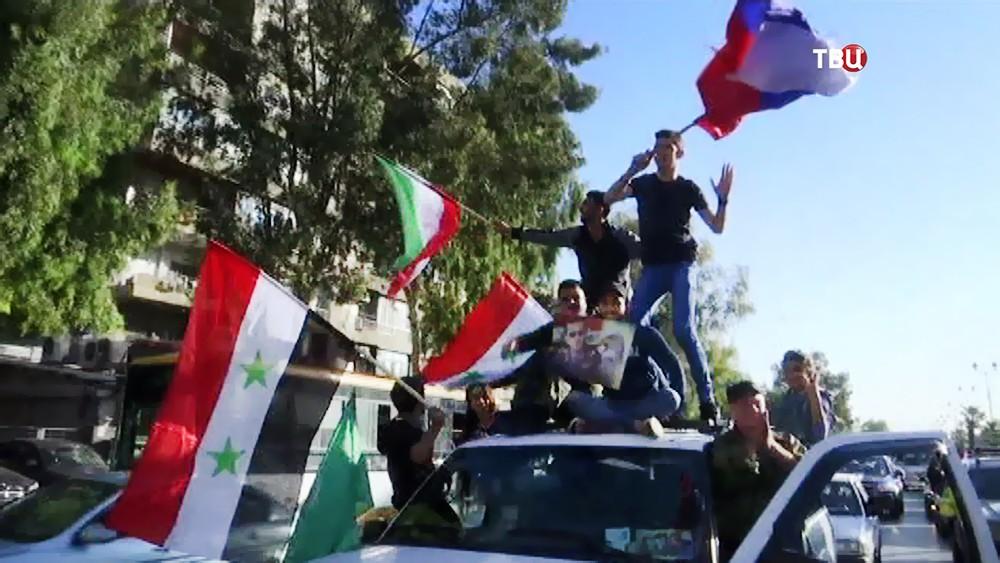 Имеет ли Сирия право ответа на нападение США, Британии и Франции ?(опрос)