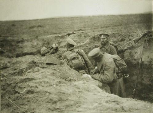 «Твиттер» Великой войны: весточки с фронта и их контекст