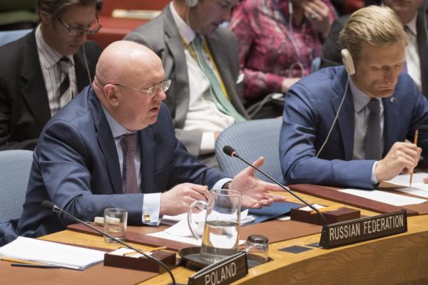 Небензя в ООН: Не думайте, ч…