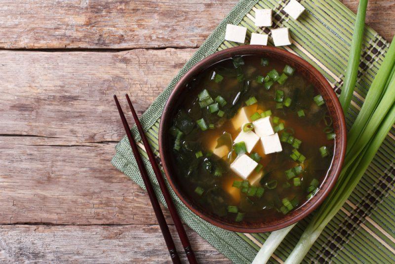 Классический рецепт супа мисо