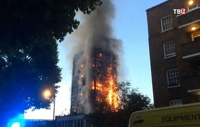 Тереза Мэй не смогла успокоить митингующих из-за пожара в Лондоне