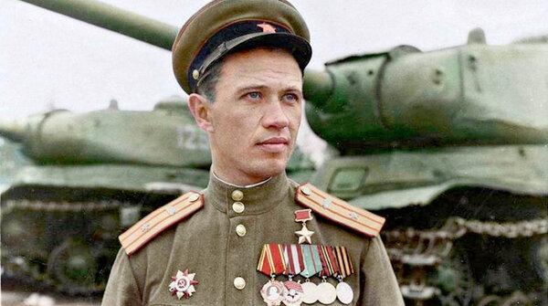 Восемь наших танков против сотни тигров. Герой Союза Бочковский