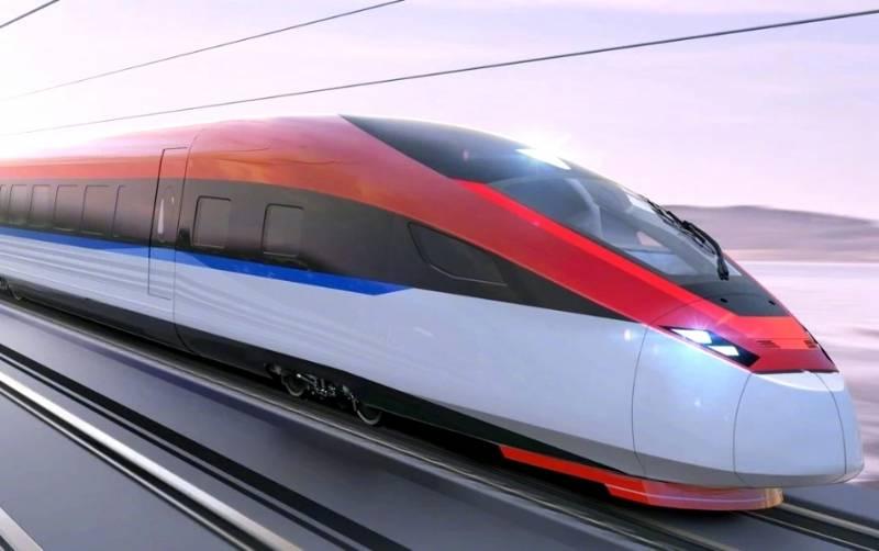 Китай строит суперскоростной поезд для России