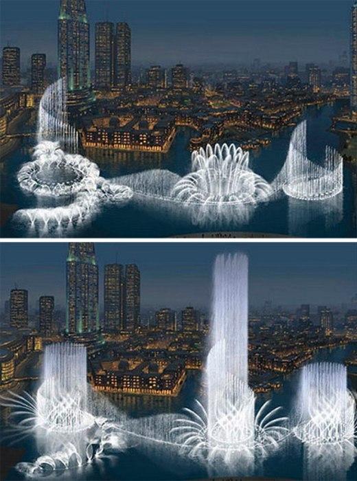 Фонтаны мира, которые смело можно назвать шедеврами архитектуры