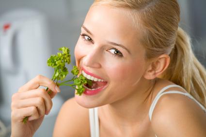 10 весенних салатов...