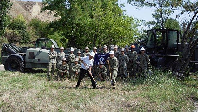 США начали строить оперативный центр на украинской базе ВМС